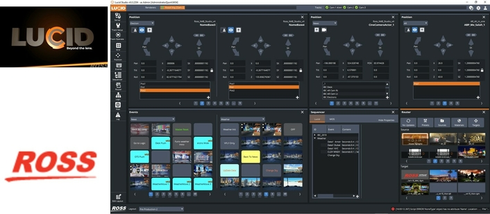 Ross Launches LUCID – Virtual Solutions Control Made Clearer