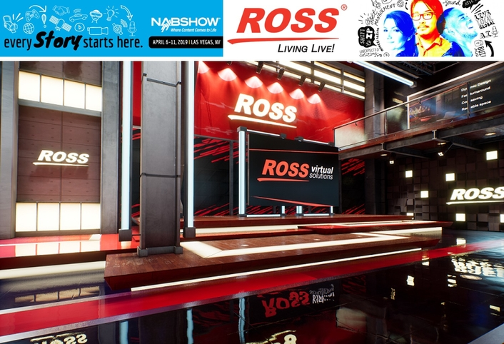 Ross Video Announces New Virtual Studio Rendering and Workflow Solution for NAB 2019