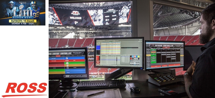 Ross Video Prepares for Super Game Day Production in Atlanta