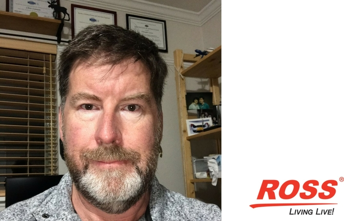 Chris Lennon Joins Ross Video – Office of the CTO: Director, Standards Strategy