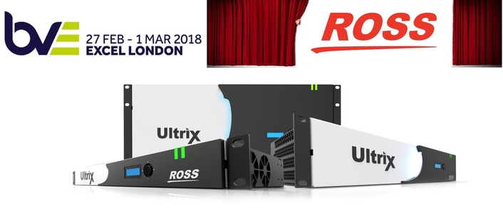 Ross Video to Launch New Product and Highlight SDP at BVE 2018