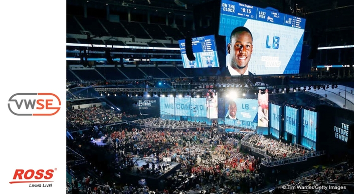 Ross Video and Van Wagner Sports & Entertainment Drive the Draft