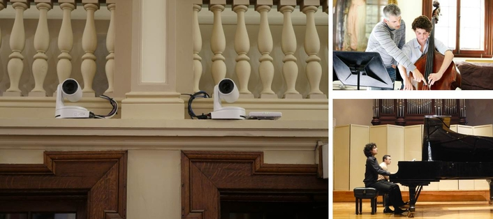 PANASONIC BROADCAST TECHNOLOGY ENABLES STUDENT LEARNING AND CONCERT STREAMING AT THE ROYAL ACADEMY OF MUSIC