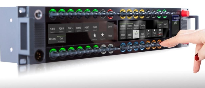 The new RSP-1232HL panel from Riedel Communications represents a quantum leap forward in workflow flexibility, power, and connectivity
