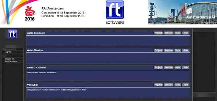 RT Software demos tOG-Data Server