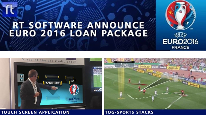 Fast track your Euro 2016 analysis and touchscreen broadcast graphic