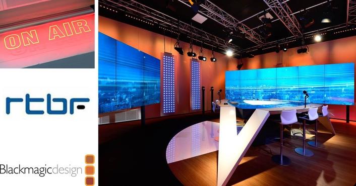 Belgium Public Broadcaster Builds Visual Radio Station with Blackmagic Design