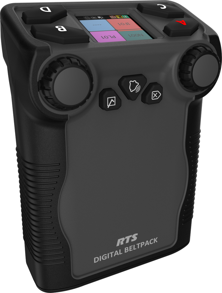 RTS introduces DBP (Digital Beltpack) – new member of the RTS Digital Partyline intercom product family