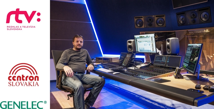 RTVS Installations Mark 20 Years of Success for Genelec and Centron Slovakia