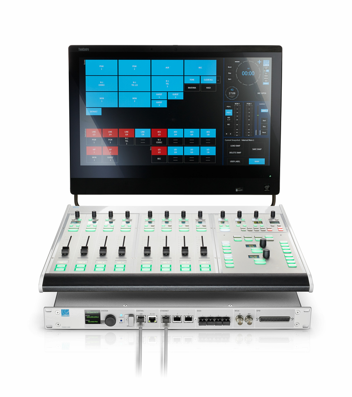 New Software Adds Features, Options to Lawo Radio Products