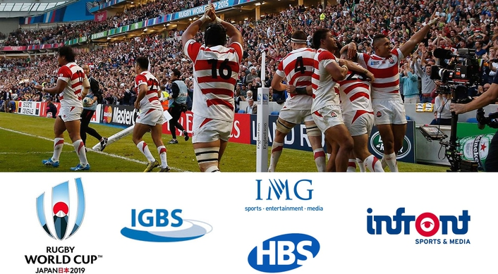IGBS APPOINTED RUGBY WORLD CUP 2019 HOST BROADCASTER