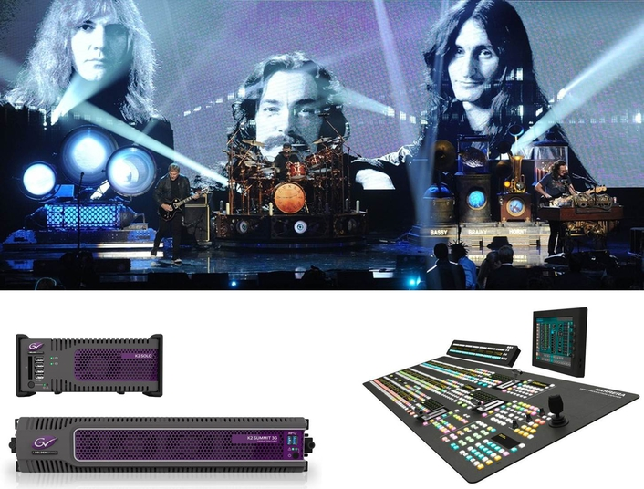 Solotech Employs Grass Valley Solutions to Produce Rush R40 Tour