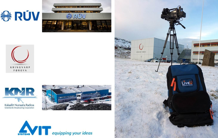 LiveU's Technology Reaches Far and Wide with Deployments in Iceland, the Faroe Islands and Greenland