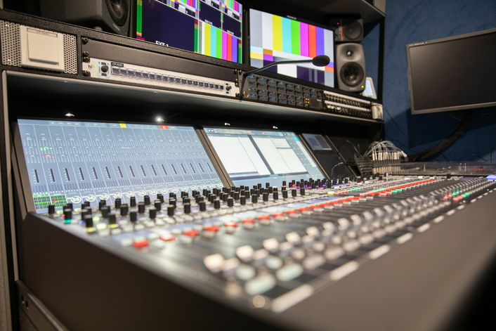 First S12T OB Van for Rwanda Broadcasting Agency features Lawo mc²56 console