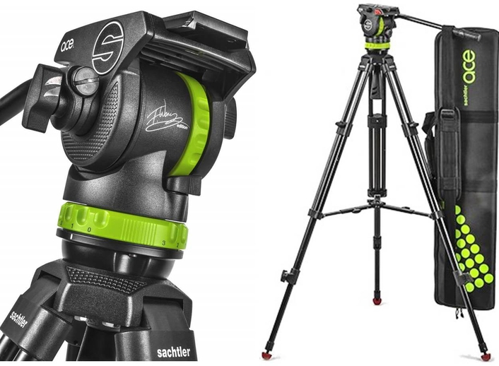 SACHTLER LAUNCHES NEW LIMITED EDITION  FREDDIE WONG SIGNATURE ACE TRIPOD