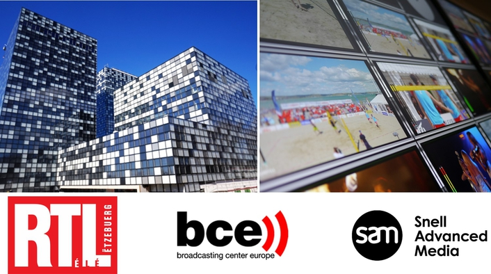 Broadcasting Center Europe goes live with SAM's end-to-end IP infrastructure for RTL City facility