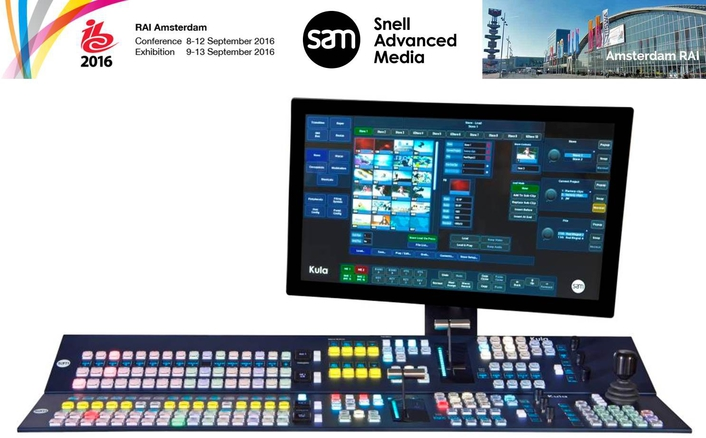 SAM demonstrates its market-leading position in IP, 4K and software applications at IBC2016