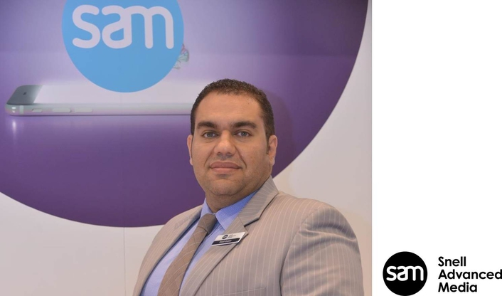SAM appoints Sherif Shaker as Regional Sales Manager for the Middle East