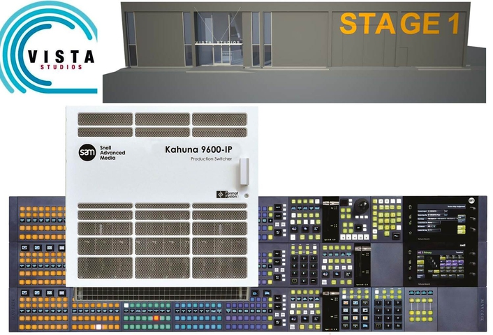 Vista Studios, the Los Angeles-based startup, broadcast & production facility launches with Snell Advanced Media's 4K and IP technology