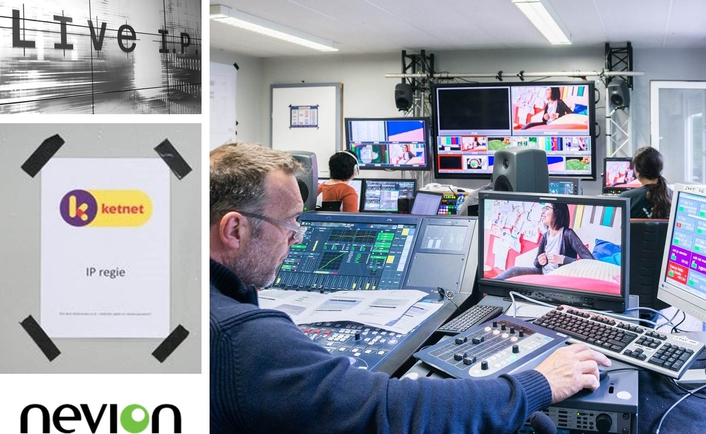 Nevion helps the LiveIP Project deliver the first fully-IP live on-air broadcast