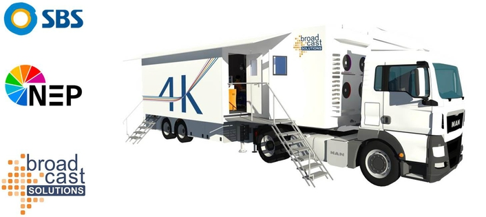 Broadcast Solutions receives orders for 4K/UHD OB Vans for South Korea and Switzerland