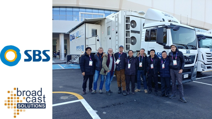 South Korean Broadcaster SBS to enlist world's first 12G-SDI UHD OB Van by Broadcast Solutions