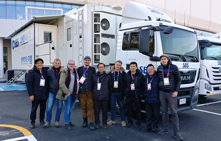 SBS Specifies Leader LV5940 4K Test Instruments For UHD1 OB Truck
