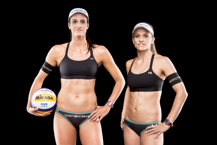 Swatch Beach Volleyball Major Series 2016 Setting Up To Smash