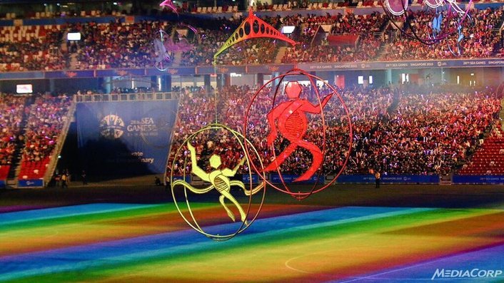 HBS MediaCorps SEA Games Singapore