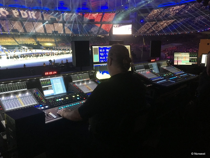 DiGiCo helps Norwest deliver the best sound for the  Southeast Asian Games
