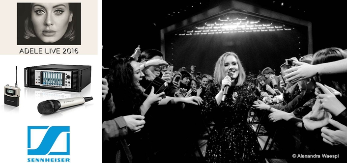Sennheiser Digital 9000 provides no compromise solution for Adele tour