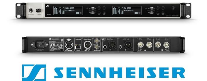 Sennheiser announces the Digital 6000 Series