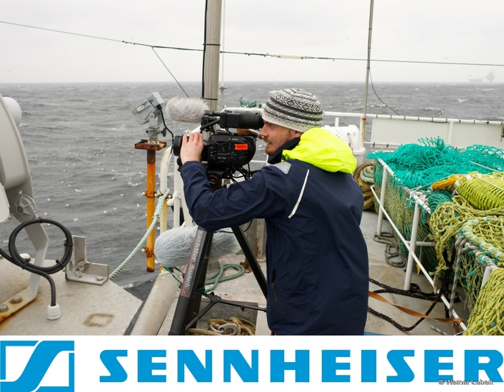 OUT FISHING IN THE SKAGERRAK – ON THE HIGH SEAS WITH A SENNHEISER MKH MIC