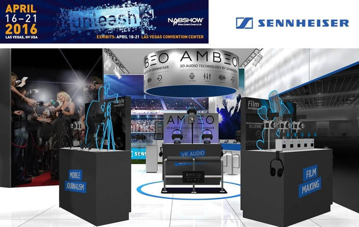 NAB: Discover the future of audio at the Sennheiser and Neumann booth