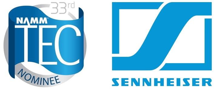 SENNHEISER RECEIVES FIVE NAMM TEC AWARD NOMINATIONS