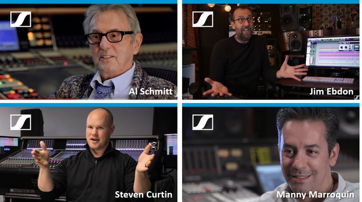 SENNHEISER 'PRO TALK' SERIES PROVIDES A STAGE FOR WORLD-RENOWNED SOUND ENGINEERS