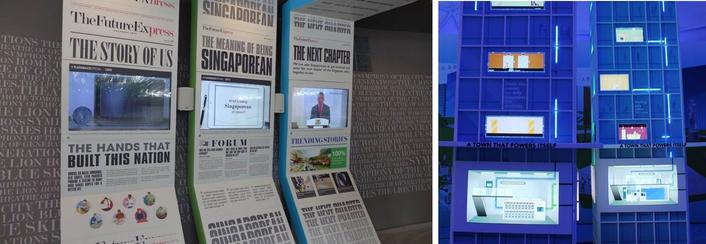 Avolites Ai EX8 servers power futuristic Singapore exhibition