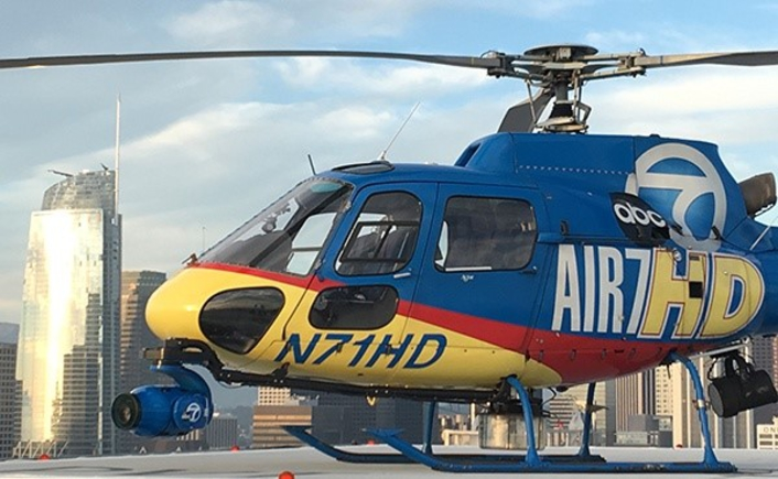 KABC-TV Unveils State-of-the-Art AIR7HD with XTREME VISION and SKYMAP7 Powered by SHOTOVER F1 LIVE