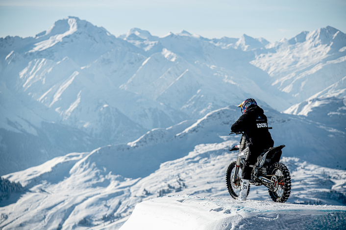 Swiss star Rebeaud takes eFMX to new heights