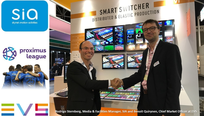 SIA invests in EVS' DYVI for new production control rooms