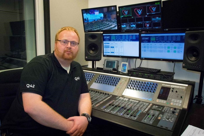 Jünger Audio Brings Audio Balance to The Pentecostal Church Filadelfia's New Media Centre