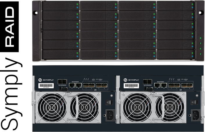 Symply Introduces Powerful RAID Storage for Professional Media Workflows