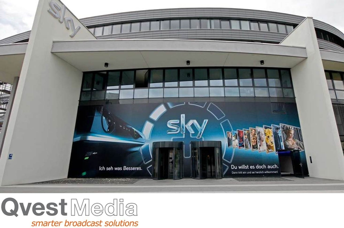 "Sky Commissions Qvest Media for Sports Infrastructure New Build ""Cube"""