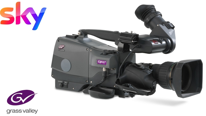 Grass Valley Cameras Central to Sky Italia's Investment in Future-Ready Studio Capability