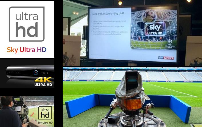 Sky Deutschland to launch Ultra HD channel