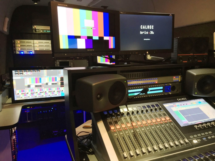 Six-camera North American mobile unit Skye can operate as on-location or at-home facility