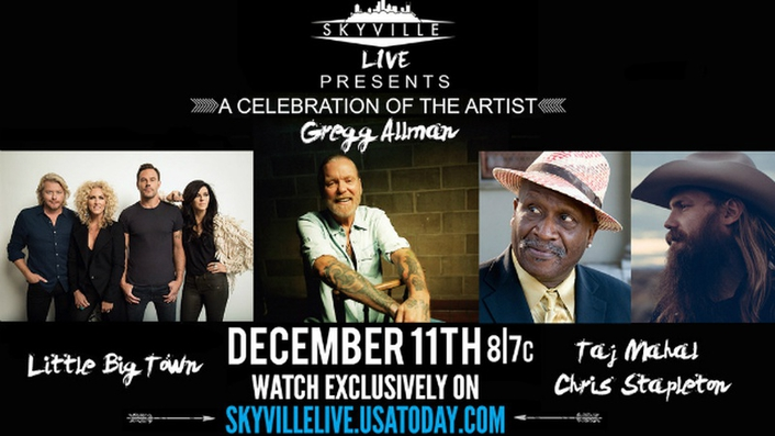 December program featuring world-famous musicians streamed live  exclusively on USA TODAY website to global audiences