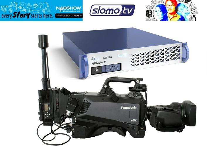 Panasonic AK-HC5000/ AK-UC4000 cameras and slomo.tv's Arrow-II server
