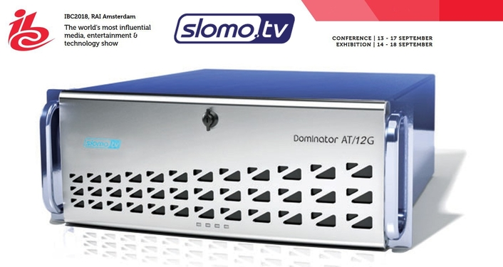 Slomo.tv Launches New Dominator AT/12G 4K Video Production & Slow Motion Replay Server