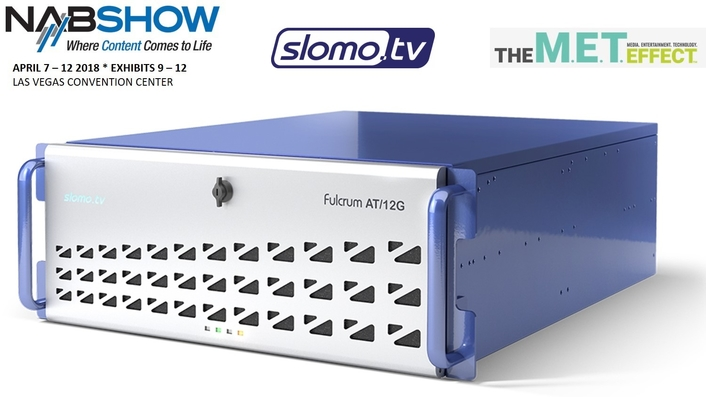 Slomo.tv Launches New Fulcrum AT/12G 4K Video Production & SuperMotion Replay Server